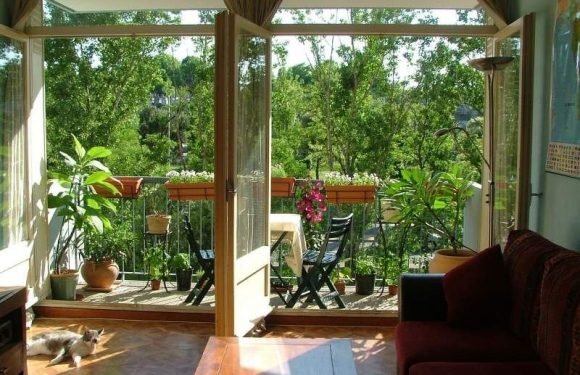 Maximizing The Tight Balcony Space Inside Your Apartment