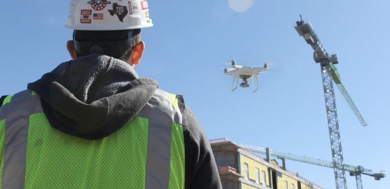 How Companies Are Using Construction Tech & Drones To Increase Safety
