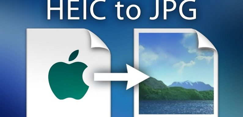 How to convert HEIC to JPG