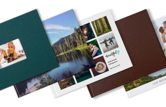 Different types of photo books