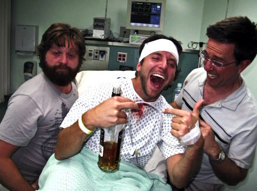 What kind of Packages does the Hangover Hospital Offer you?
