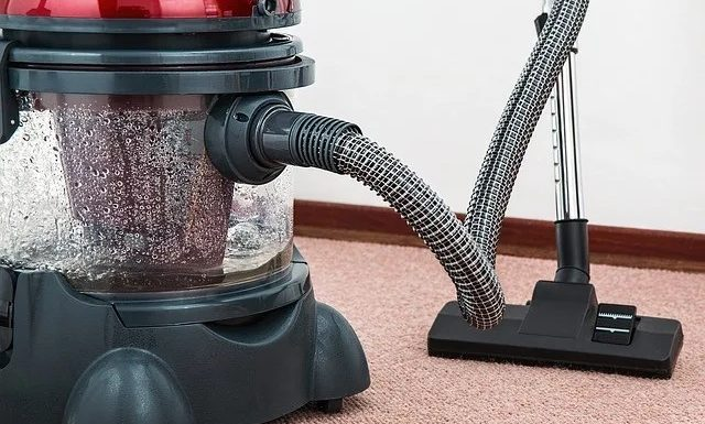 How could some cleaners able to clean the stains using a Vacuum cleaner?