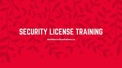 Security License Training – Getting Started In Security